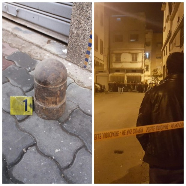 بالصور من كازا.. البوليس يفك لغز قنبلة قديمة خلقت الرعب في إفريقيا