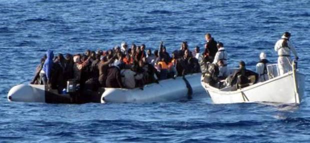 مضيق جبل طارق.. إنقاذ 167 مهاجرا إفريقيا