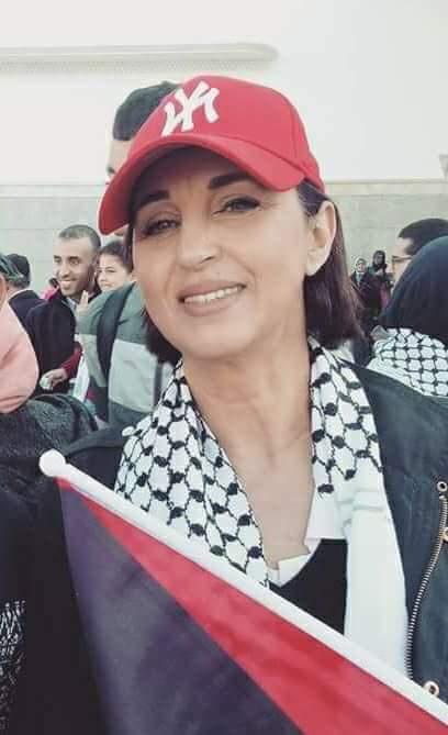 فهم تسطّى.. منيب متضامنة مع فلسطين بكاسكيطة ديال نيويورك!