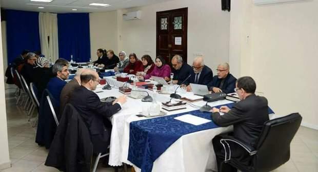 بالصور من الرباط.. العثماني في أول اجتماع للقيادة الجديدة للبيجيدي