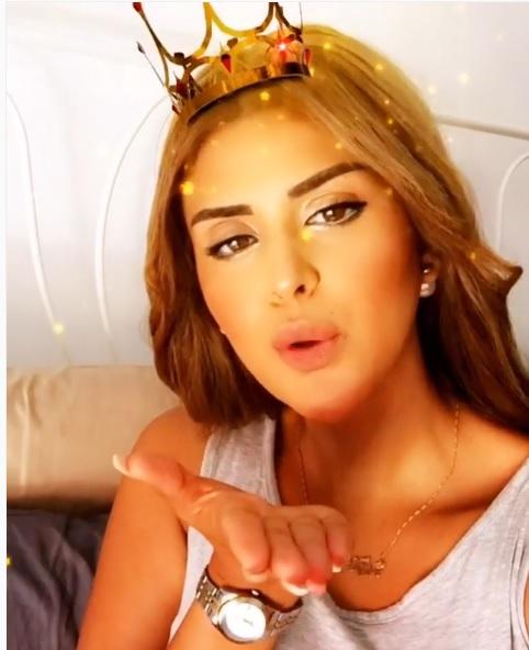 سلمى رشيد.. قبلة من الملكة (فيديو)
