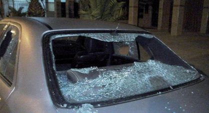 سابقة.. القضاء يحكم بالتعويض لسيدة تعرضت سيارتها للرشق في الأوطوروت