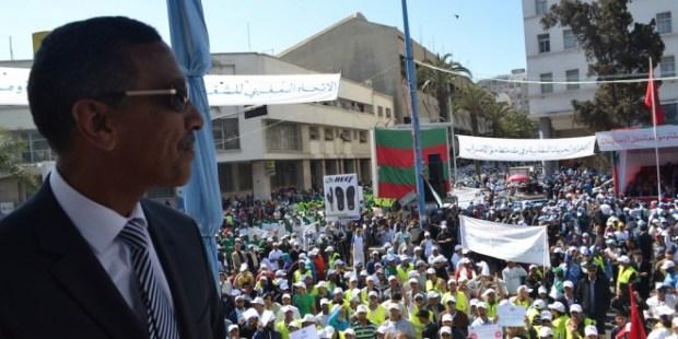 استنكرت الهجوم على مكتسبات الطبقة الشغيلة.. نقابة تخصص شهرا للاحتجاج ضد الحكومة!!
