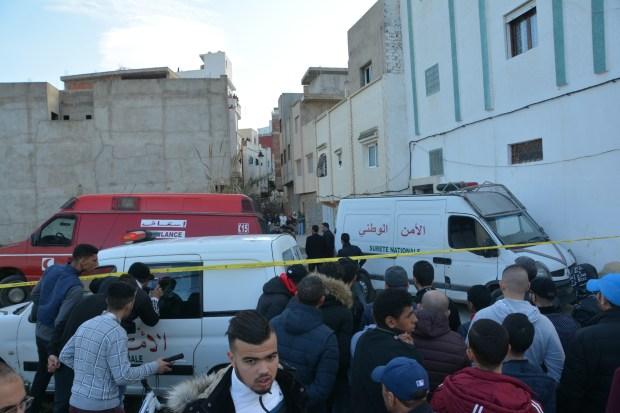 ضرب وجرح وسلاح أبيض و4 قتلى.. البوليس يبدأ التحقيق في مجزرة تطوان (صور)