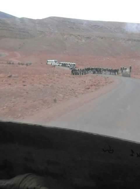 تنغير.. السلطات تتدخل لفض اعتصام سد تودغى وتعتقل 11 شخصا