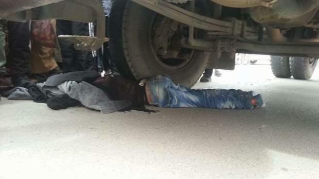 فكيك.. السلطات تتدخل لنقل طفل دهسته شاحنة إلى المستشفى