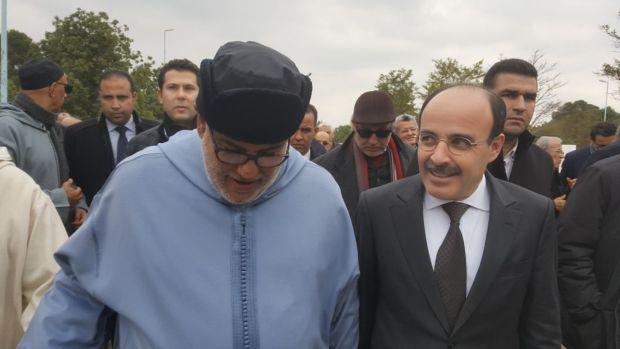 بالصور.. جنازة مولاي أحمد العراقي تجمع عبد الإله ابن كيران وإلياس العماري