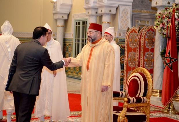 القصر الملكي/ كازا.. الملك يستقبل 22 سفيرا