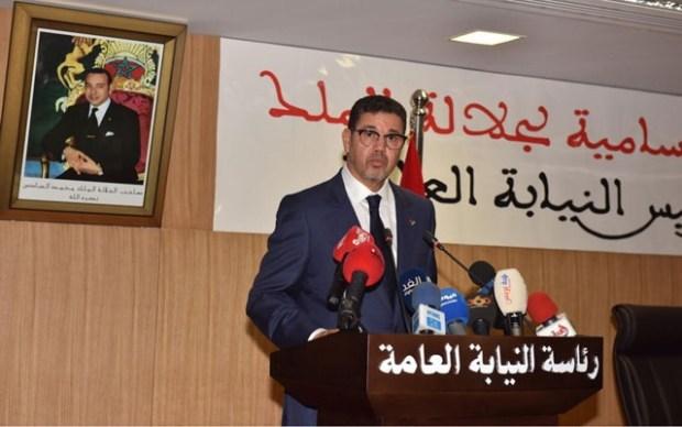 إرسالية لمحمد عبد النباوي: لا تنفيذ لأي تعليمات باستثناء الصادرة عن رئاسة النيابة العامة