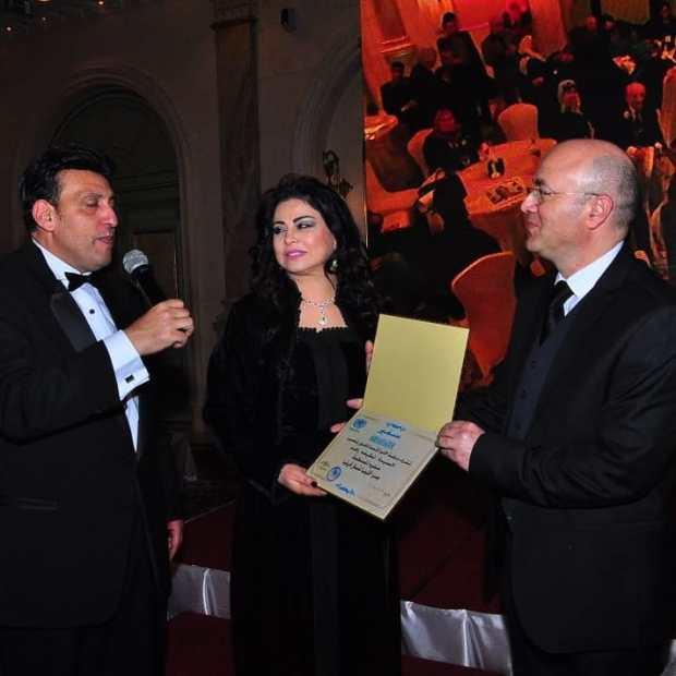 بالصور من مصر.. مراسيم تعيين لطيفة رأفت سفيرة للأمم المتحدة للفنون في المغرب والشرق الأوسط