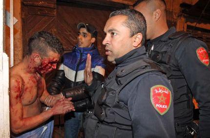 البوليس في مواجهة الاعتداءات والتشرميل.. آخر الدواء إطلاق الرصاص!! (صور)