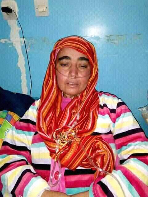 هجرها الزوج وتخلى عنها الأقارب وتعاني التشمع الرئوي.. 20 ألف درهم لإنقاذ حياة فاطمة
