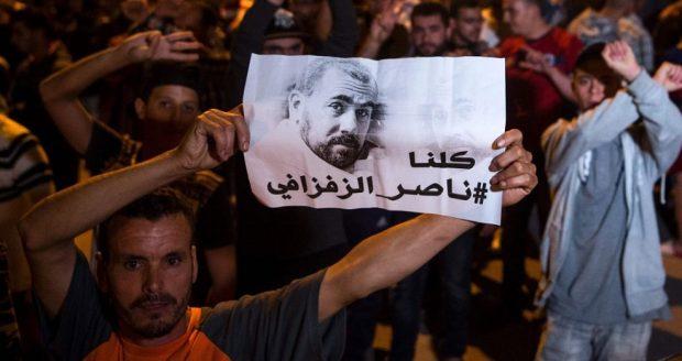 الحسيمة.. 20 سنة سجنا لستة أشخاص خرجوا في مسيرة للمطالبة بالإفراج عن الزفزافي