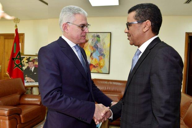 بالصور من الرباط.. سفير موريتانيا يقدم أوراق اعتماده
