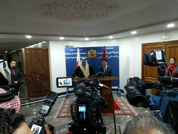 وزير الخارجية البحريني: دعمنا ثابت لوحدة المغرب