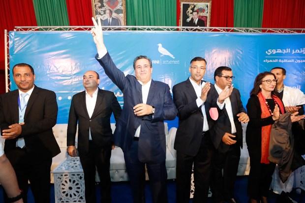 بالفيديو والصور.. العثماني فالشرق وأخنوش فالجنوب!!