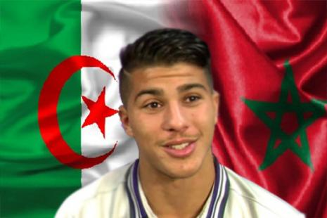 """زين الدين مشاش.. """"جزائري"""" يفضل اللعب للمغرب!"""