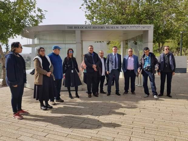 ضمن وفد عربي.. إعلاميون مغاربة في إسرائيل