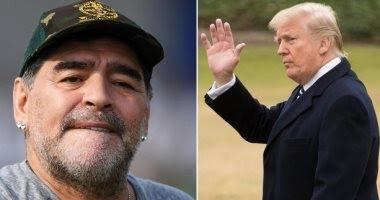 """وصفه ب""""تشيروليتا"""".. ترامب يمنع مارادونا من دخول أمريكا!"""