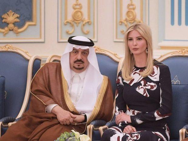بالفيديو.. جدل واسع حول ابنة ترامب والهوس الجنسي للسعوديين!