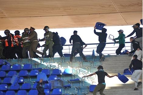 أحداث الشغب في ملعب مراكش.. متابعة 24 متهما في حالة اعتقال و35 في حالة سراح