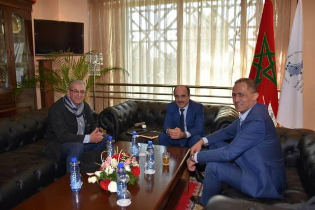 طنجة.. إلياس العماري يجتمع بالأمين العام لفدرالية اليهود المغاربة في فرنسا
