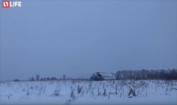 بالفيديو… تحطم طائرة روسية ومقتل كل ركابها