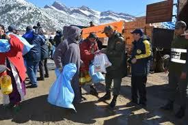 لمواجهة البرد.. توزيع مواد غذائية وأغطية في إقليم الرشيدية