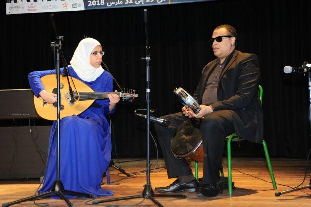 """""""ملامس"""".. التموسيق في الدار البيضاء مع فنانين مكفوفين"""