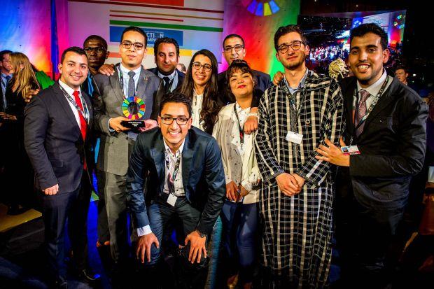 بالصور من ألمانيا.. جائزة أممية للمغرب