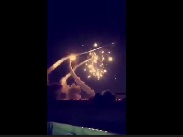 بالفيديو.. الحوثيين محيّحين على السعودية بالصواريخ!