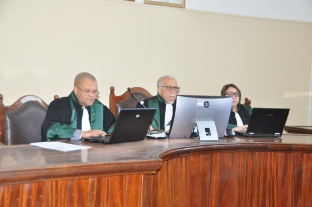 بالصور من مراكش.. محكمة الاستئناف في أول جلسة رقمية