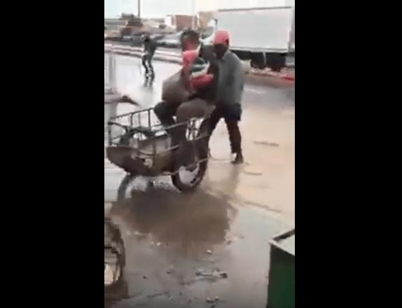 بالفيديو من أكادير.. 2 دراهم باش تقطع الشانطي