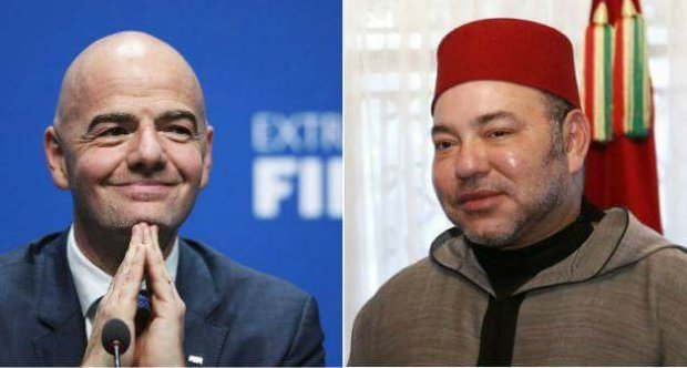 الملك في خطاب إلى رئيس الفيفا: المغرب بلد الأمن والحداثة… نعد الجماهير بأجواء استثنائية