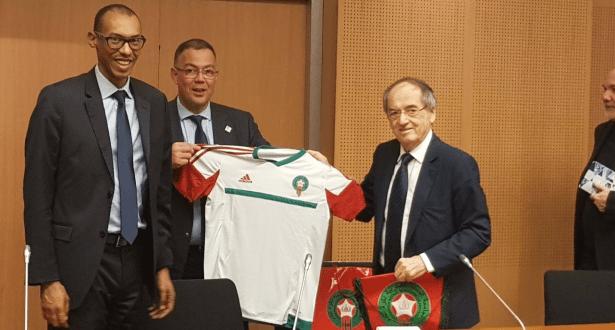 مونديال 2026.. فرنسا وشركاؤها مع المغرب