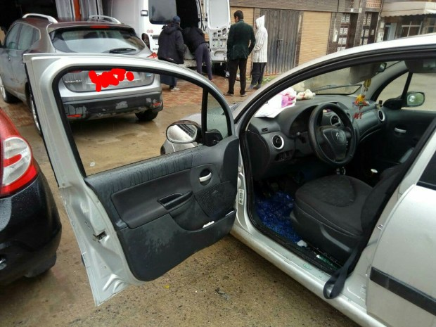 """بالصور من المحمدية.. سرقة محتويات سيارة بطريقة """"احترافية"""""""