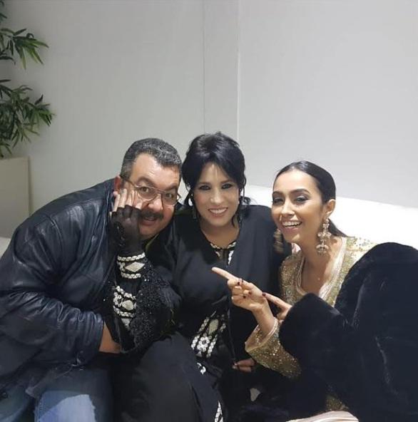 بحضور زينب صابر.. نجاة عتابو في لحظة رومانسية مع زوجها