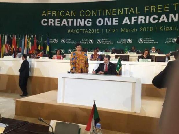الاتفاقية المؤسسة لمنطقة التجارة الحرة القارية الإفريقية.. المغرب يوقع