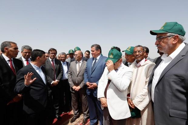 المغرب الأخضر.. أخنوش وضح لبرلمانيين فين وصلو المشاريع في جهة مرّاكش (فيديو)