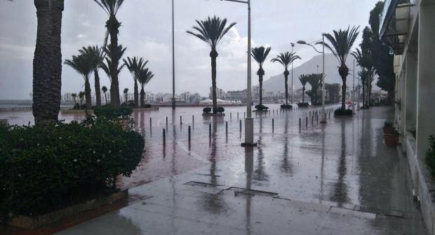 الأمطار في 24 ساعة.. أكادير شبعات شتا