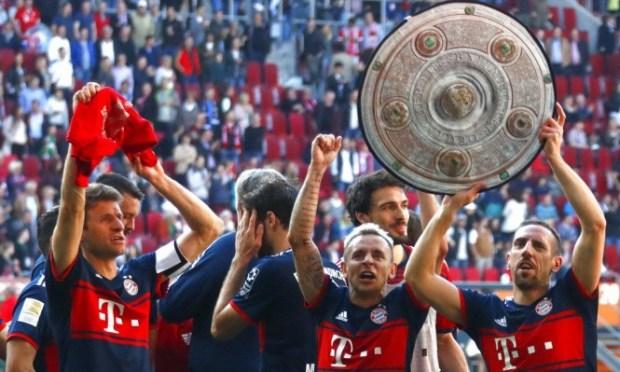 للمرة السادسة على التوالي.. بايرن ميونخ يتوج بطلا للدوري الألماني