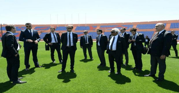 مونديال 2026.. لجنة الفيفا تغادر طنجة في اتجاه بنسليمان