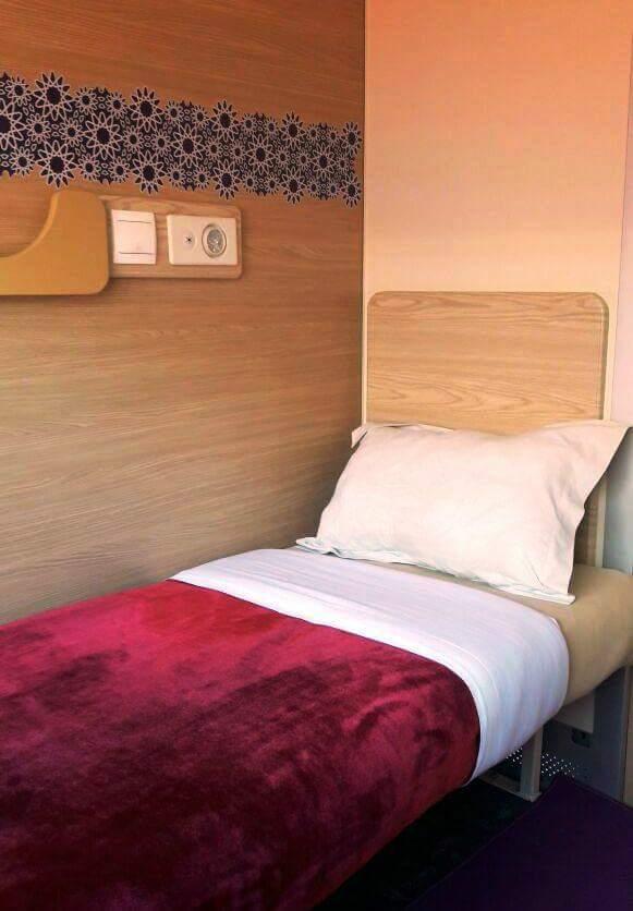 بالصور.. غرف نوم فندقية في القطارات!