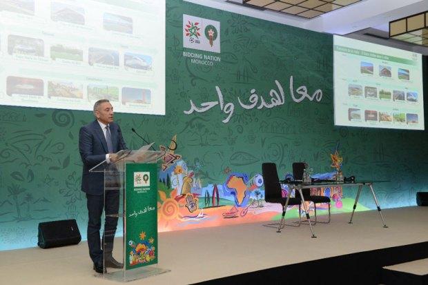"""المغرب 2026.. العلمي يكشف عن ملاحظات """"الفيفا"""" (فيديو)"""