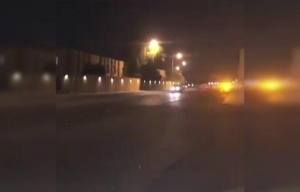بالفيديو.. إطلاق نار كثيف قرب القصر الملكي في الرياض