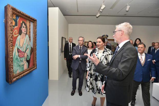 الرباط.. الأميرة للا حسناء في متحف محمد السادس للفن الحديث
