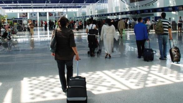 ارتفاع حركة النقل الجوي.. الرواج فالمطارات
