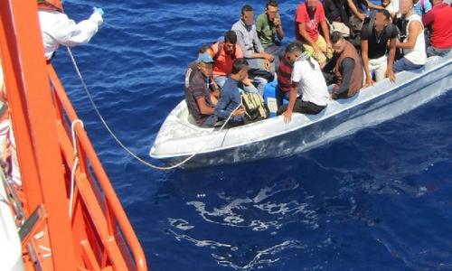 بينهم 8 قاصرين.. البحرية الإسبانية توقف 14 حراكا مغربيا