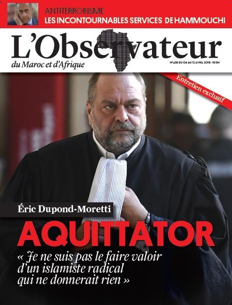 """في حوار حصري.. المحامي """"الوحش"""" يتحدث لمجلة """"لوبسيرفاتور دي ماروك"""" عن ملفاته الثقيلة"""