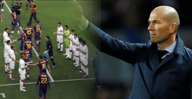 رد الصفعة لبرشلونة.. زيدان يرفض الممر الشرفي